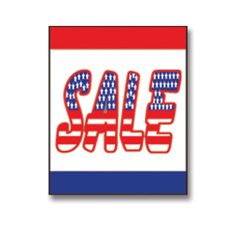 Underhood Sign - SALE FLAG - Qty. 1 - Independent Dealer Services