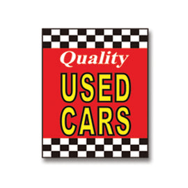 Underhood Sign - QUALITY USED CARS - Qty. 1 - Independent Dealer Services