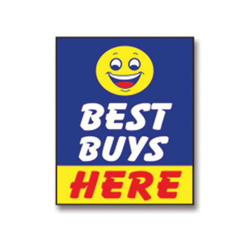 Underhood Sign - BEST BUYS HERE - Qty. 1 - Independent Dealer Services