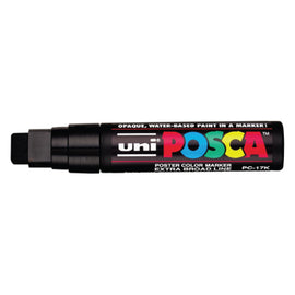 Windshield Markers - Large Posca (PC-17K) - BLACK - Qty. 1
