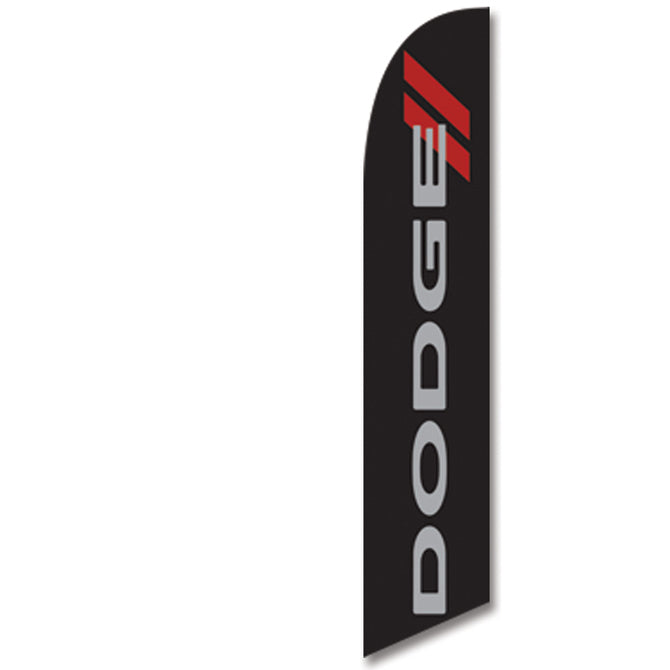 Swooper Banner - DODGE - Qty. 1 - Independent Dealer Services