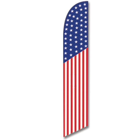 Swooper Banner - AMERICAN FLAG (TRADITIONAL) - Qty. 1 - Independent Dealer Services