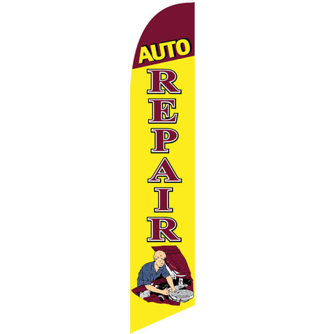 Swooper Banner - AUTO REPAIR- Qty. 1 - Independent Dealer Services