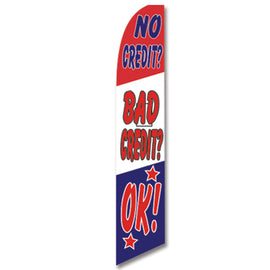 Swooper Banner - NO CREDIT BAD CREDIT OK! - Qty. 1 - Independent Dealer Services