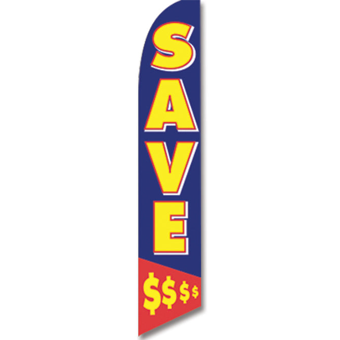 Swooper Banner - SAVE - Qty. 1 - Independent Dealer Services