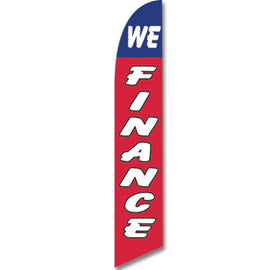 Swooper Banner - WE FINANCE - Qty. 1 - Independent Dealer Services