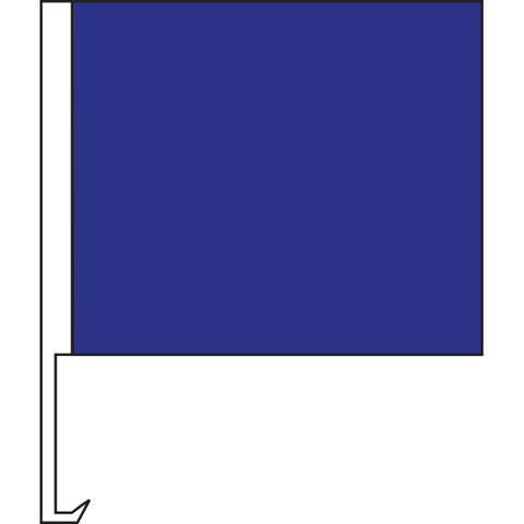 Standard Clip-On Flag - Dark Blue - Qty. 1 - Independent Dealer Services