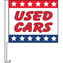 Standard Clip-On Flag - Used Cars - Qty. 1 - Independent Dealer Services