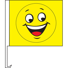 Standard Clip-On Flag - Smiley Face - Qty. 1 - Independent Dealer Services
