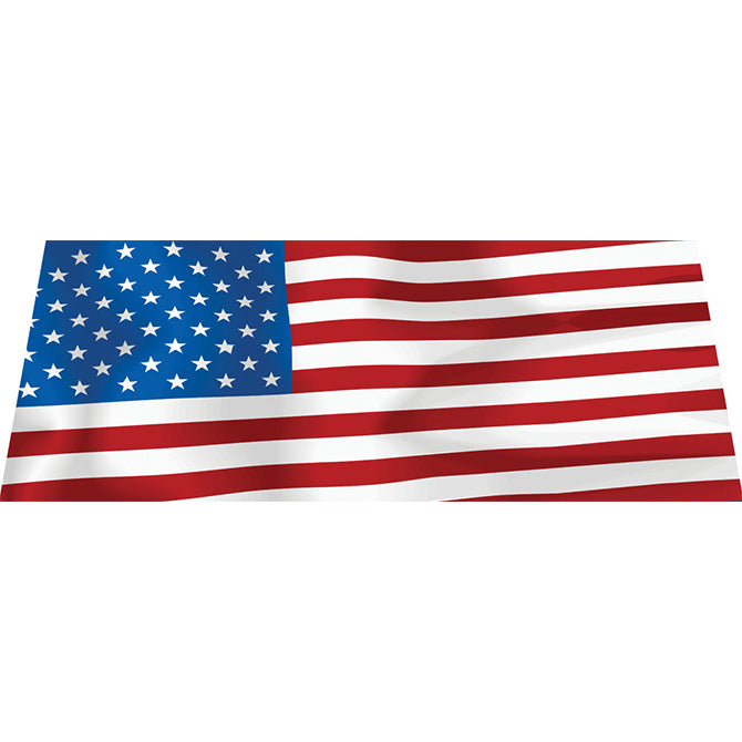 Windshield Banner - American Flag - Qty. 1 - Independent Dealer Services