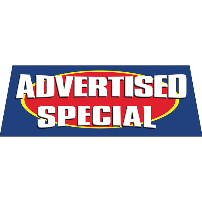 Windshield Banner - Advertised Special - Qty. 1 - Independent Dealer Services