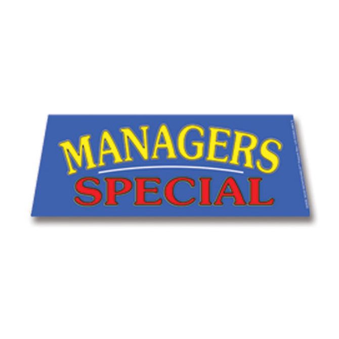 Windshield Banner - Managers Special - Qty. 1