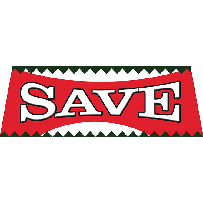 Windshield Banner - Save - Qty. 1 - Independent Dealer Services