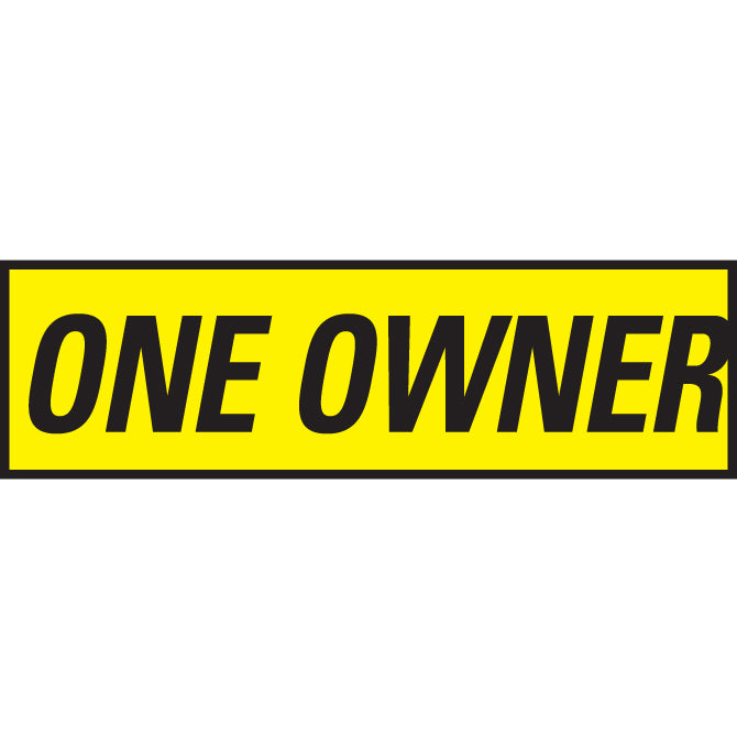 Yellow & Black Slogan - Qty. 12 - Independent Dealer Services