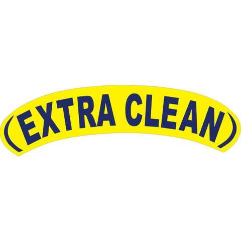 Arch Slogan Window Sticker - Blue on Yellow - Qty. 12 - Independent Dealer Services