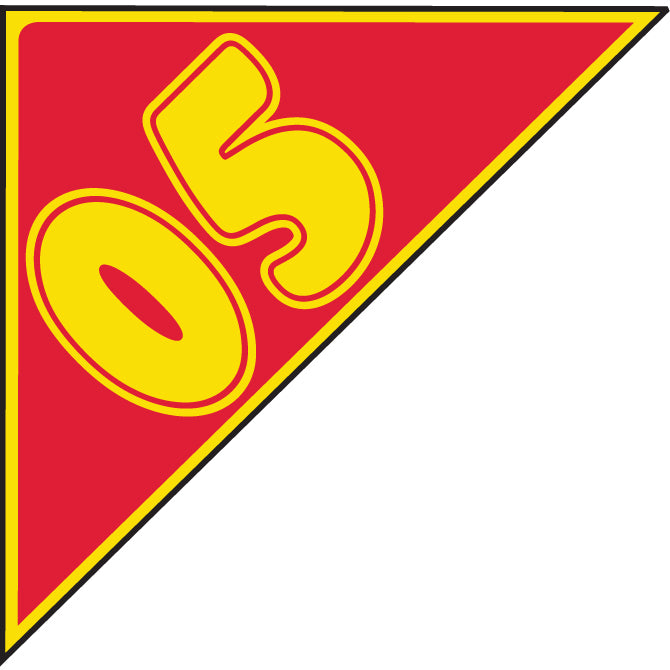 Window Sticker - Auto Angles - Yellow & Red - Qty. 12 - Independent Dealer Services