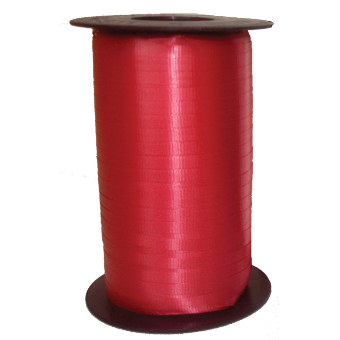 "Curling Ribbon -  RED -  3/16"" x 500 yards -  Qty. 1 - Independent Dealer Services"
