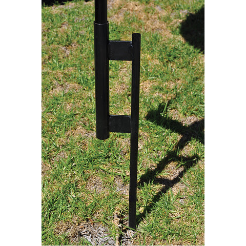 Reusable Balloon - Black Steel Ground Spike - Qty. 1 - Independent Dealer Services