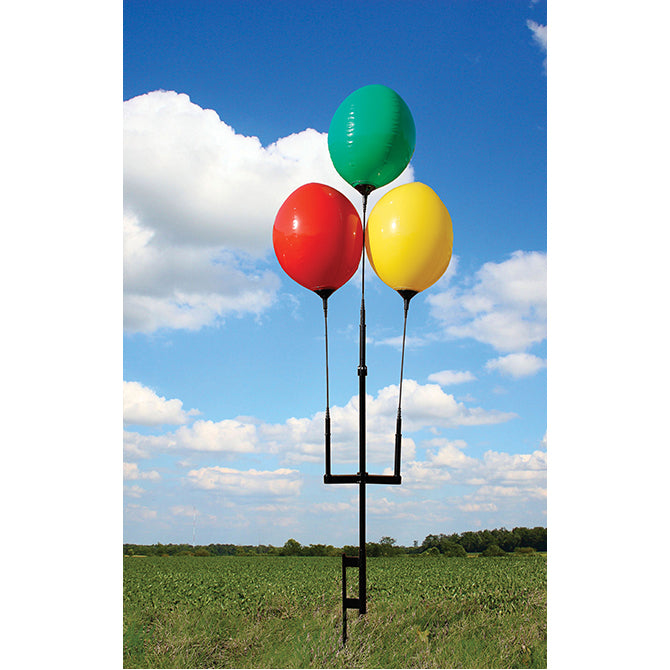 Reusable Balloon Ground Pole Kit - 3 Balloons - Qty. 1 - Independent Dealer Services