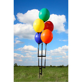Reusable Balloon Ground Pole Kit - 5 Balloons - Qty. 1 - Independent Dealer Services