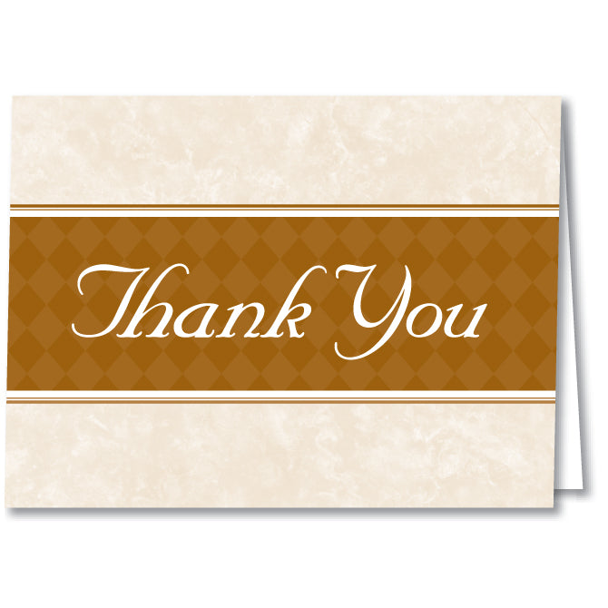 Thank You Card - Thanks For Your Valued Business - Qty. 50 - Independent Dealer Services