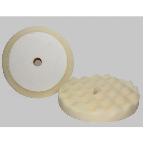 "White Velcro Waffle Foam Pad - 8"" - 2 Pads - Qty 1 Pk - Independent Dealer Services"