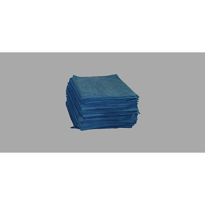 "Plush Blue Microfiber Detailing Towel  - Approx. 15"" x 25"" - Qty. 25 - Independent Dealer Services"