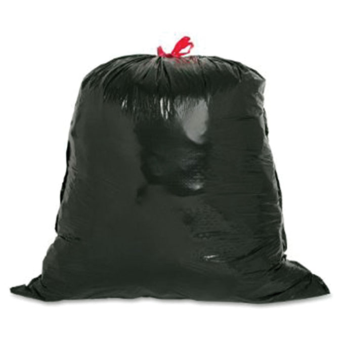 "Trash Bags - 30 Gallon Black - 30"" x 36"" - Qty. 90 - Independent Dealer Services"