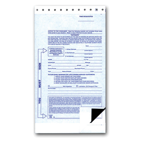 2 Part Night Drop Envelope - NDE-2 PART - Qty. 500 - Independent Dealer Services