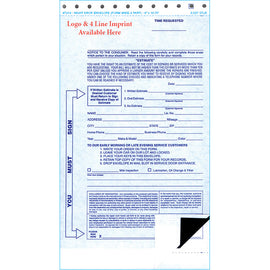 2 Part Night Drop Envelope - NDE-2 PART - Imprint - Qty. 100 - Independent Dealer Services