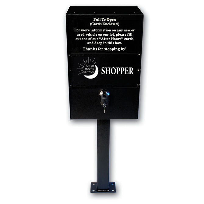 After Hours SHOPPER Box, Self-Contained - Qty.1 - Independent Dealer Services