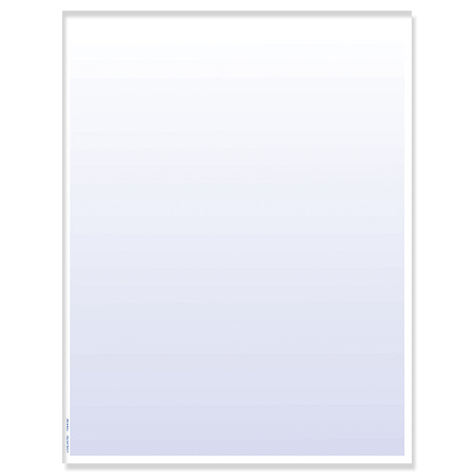 Laser Cut Sheet - Blue Screen -  8.5 x 11-  20# - Qty. 250 - Independent Dealer Services