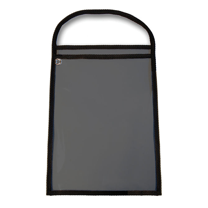 "Work Ticket Holder - Black - Solid Back (9933-03) - 11"" x 13"" - Qty. 25"
