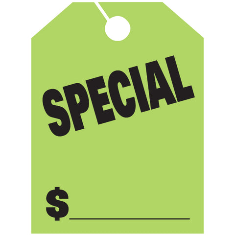 Hang Tags - Special - Large - Qty. 50 - Independent Dealer Services