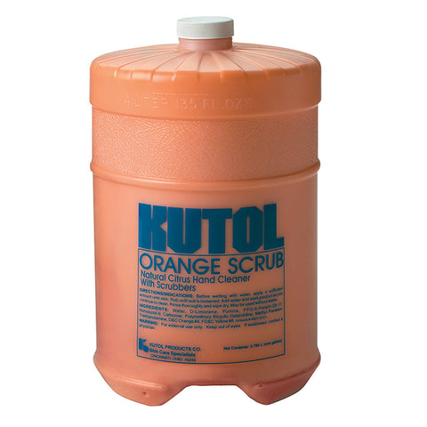 Bulk - Orange Scrub w/Pumice - 1 Gallon - Qty. 1 - Independent Dealer Services