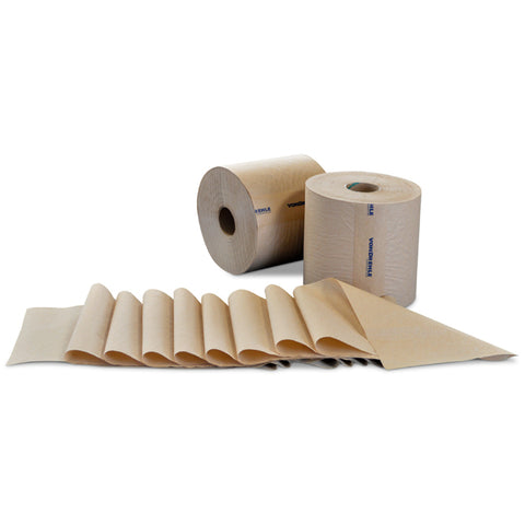 Natural Roll Towel - 800' Per Roll - 6 Rolls - Qty. 1 Case - Independent Dealer Services
