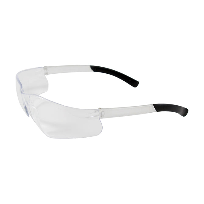 Safety Glasses - Flexible Rubber -Tipped Temple,  12 pairs; Qty. 1 Box - Independent Dealer Services