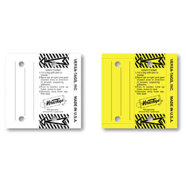 Versa Tag Multi Use Key Tag - #204 - 250 Per Box With Rings