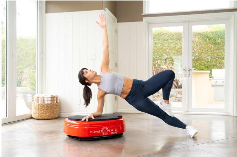 Power Plate MOVE girl