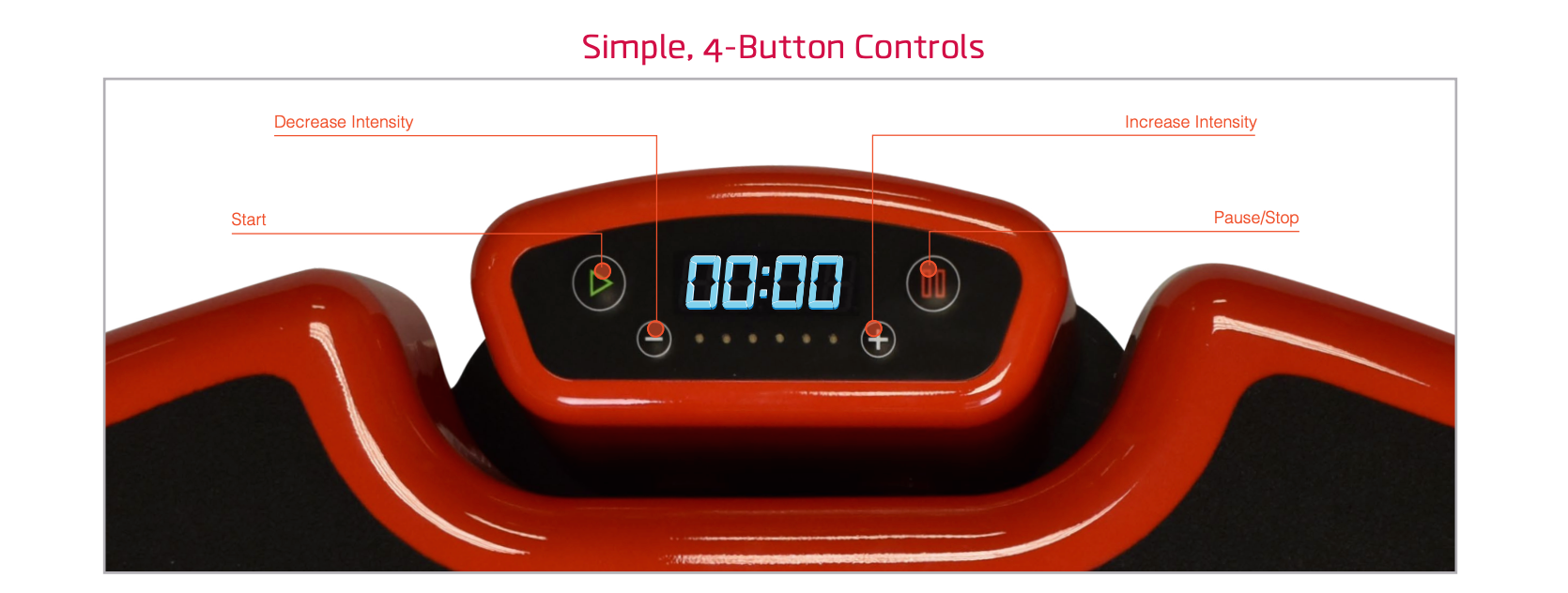 Power Plate MOVE button image