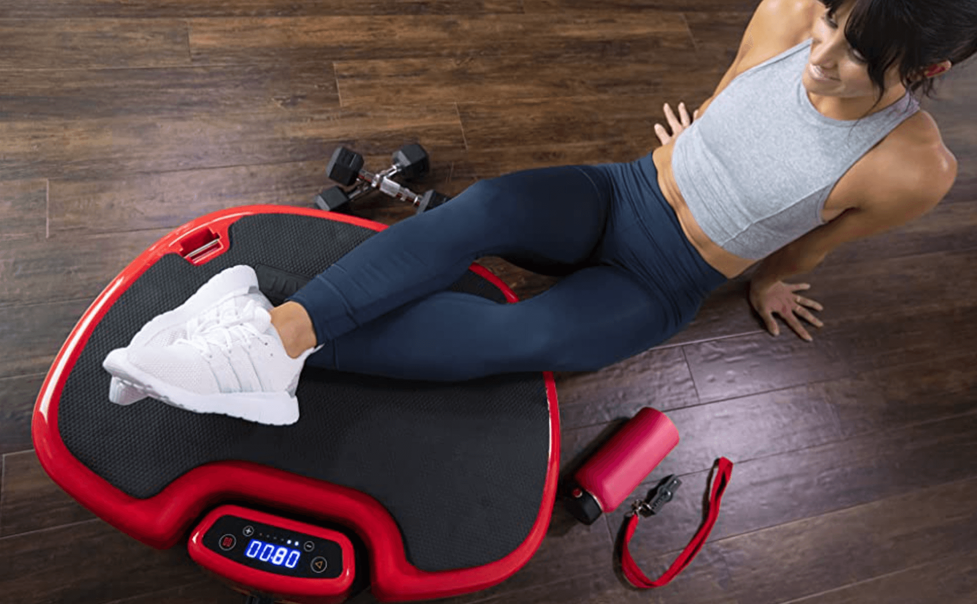 Power Plate MOVE feet up