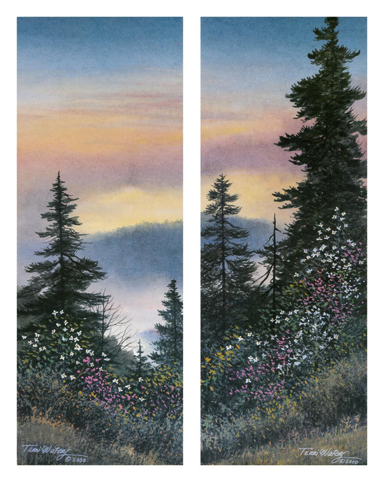 High Country Spring - Watercolor