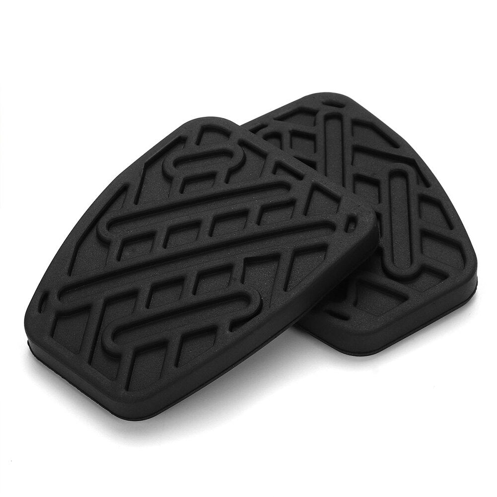1 Pair Brake Durable With Cover Easy Installation Clutch Rubber Car Pedal Pad