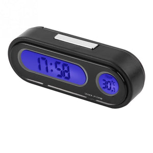 Auto LCD Car Thermometer Clock LED Backlight Digital Thermometer Digital Clock