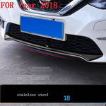 Car Chromium Exterior Sticker Strip Mouldings Accessories Trim 06 07 08 09 10 11 12 13 14 15 16 17 18 19 FOR Nissan Sylphy - Number 1