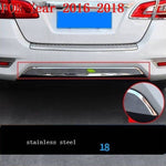 Car Chromium Exterior Sticker Strip Mouldings Accessories Trim 06 07 08 09 10 11 12 13 14 15 16 17 18 19 FOR Nissan Sylphy - Number 8