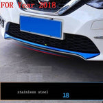 Car Chromium Exterior Sticker Strip Mouldings Accessories Trim 06 07 08 09 10 11 12 13 14 15 16 17 18 19 FOR Nissan Sylphy - Number 16
