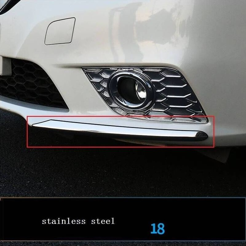 Car Chromium Exterior Sticker Strip Mouldings Accessories Trim 06 07 08 09 10 11 12 13 14 15 16 17 18 19 FOR Nissan Sylphy