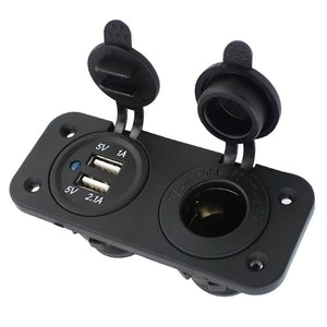 Cs-147a1 Car Modification Charger Center Console Mother Car Charger 2.1a Dual Usb Mobile Phone Navigation Gps Charging