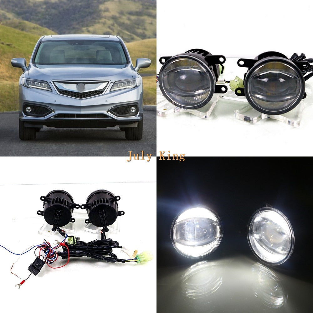 July King 1600LM 24W 6000K LED Light Guide Q5 Lens Fog